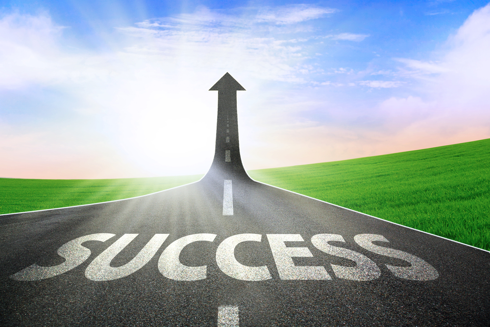 Image of a Road to Success